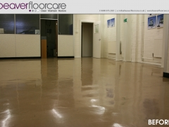 Brown Vinyl Floor