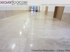 Travertine Filling