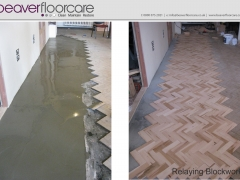 Parquet Block Replacement