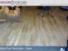 Retail Floor Sanding
