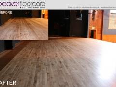 Stage Floor Sanding