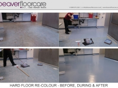 Floor Re-colouring Project