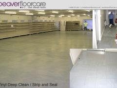 Vinyl Floor Strip & Sealing