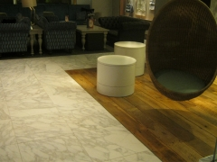 Wood & Porcelain Floors