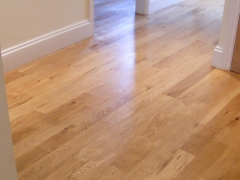 Wood Hallway