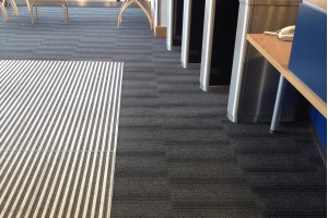 Barrier matting