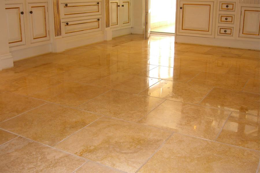 Clean Stone Floor Tiles