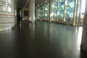 shiny clean Vinyl floor