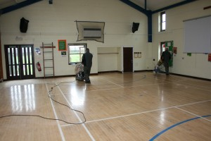 School Floor Sanding West Midlands