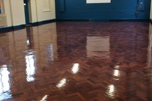 School Floor Restoration Sanding