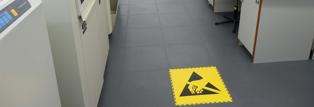 ESD Floor Cleaning