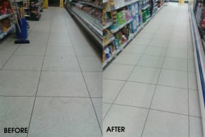 Tesco Floor Cleaning Trial