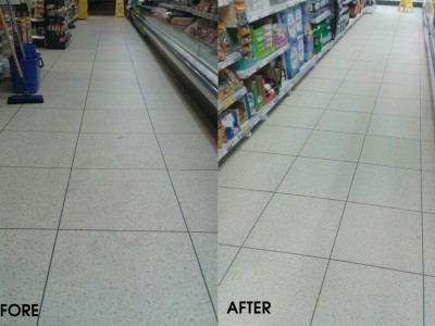 Deep Clean Tesco Trial