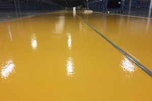 Epoxy Coating Distribution Hub