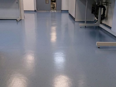 Floor refurbishment