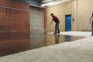 Epoxy Floor Priming