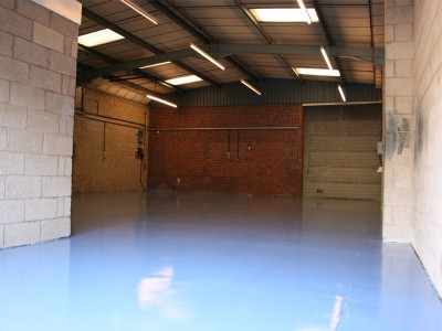 Warehouse Floor Refurbishment
