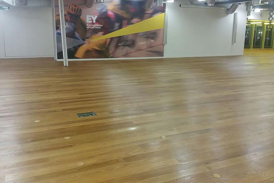 Wood Floor Restoration For Ey In London Beaver Floorcare