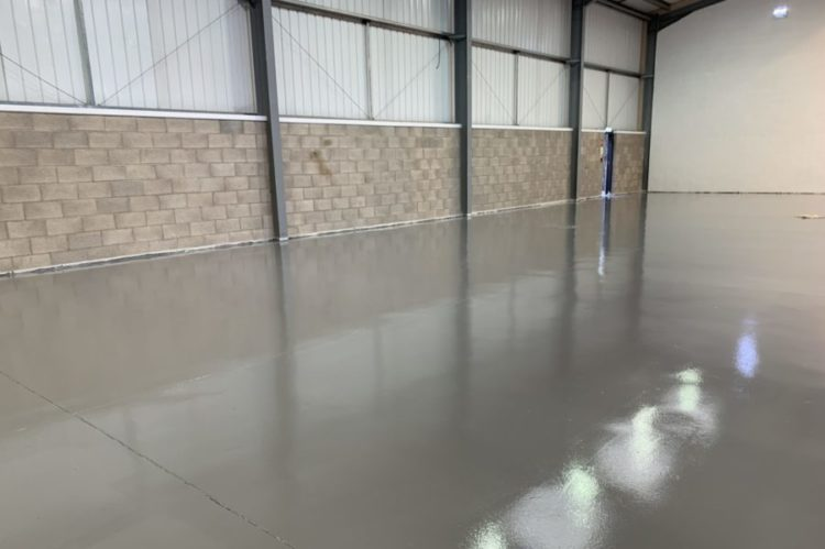 Warehouse Grey Painted Floor